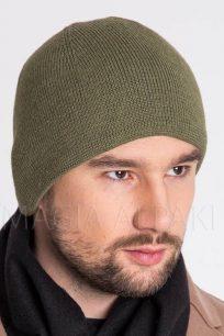 czapka-z-welny-alpaki-zielona